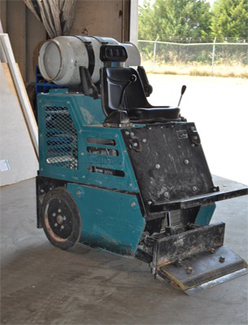 Reece Flooring utilizes the Lightning flooring removal machine to quickly and easily remove a variety of flooring.